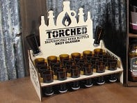 Torched Products: Shot Glass - 24 Count with POP Display - Case of 24