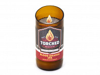 Torched Products: Torched Beer Bottle Candle - 8 oz. - Case of 24
