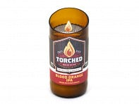 Torched Beer Bottle Candle - 8 oz. - Case of 24