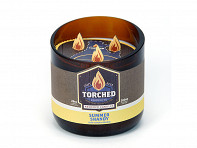 Wooden Shoe Designs: Torched Growler Candle - 28 oz. - Case of 6