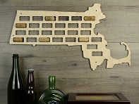 Torched Products: Wine Cork Map
