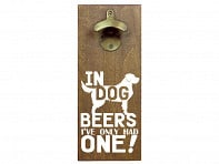 Wall Mounted Bottle Opener - Case of 6