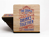 UV Printed Coasters - Case of 6