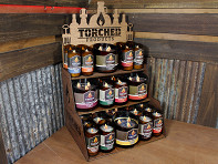 Torched Products: Medium Candle Bundle + Free Display (Kit 2) - Case of 84