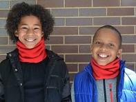 NEKZ: Youth Fleece Scarf Alternative