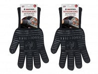 Bear Paw Products: Black Fabric Gloves - Pair - Case of 8