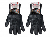Black Fabric Gloves - Pair - Case of 8