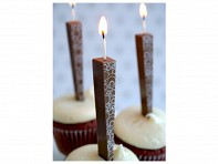 Let Them Eat Candles: Edible Milk Chocolate Candles - Case of 18