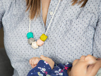 Mama & Little: Teresa Silicone Teething Necklace - Sample