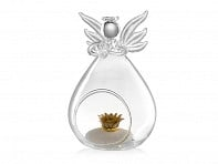 The Blessing Flower: Guardian Angel Terrarium