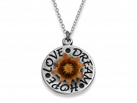 The Blessing Flower: Love Dream Hope Necklace