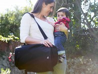 Baby Sak: Convertible Diaper Bag