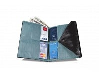 Allett: Leather Womens Original Wallet Assorted Colors Collection - Case of 10