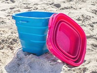 Packable Pails: Collapsible Bucket - Case of 24