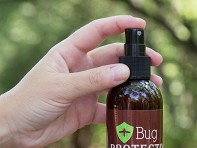Bug Protector: All-Natural Bug Sprays - 8 oz with Display - Case of 15
