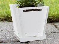 "Groovebox Living: 6"" Modular Planter - Case of 15"