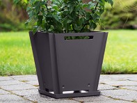 "Groovebox Living: 12"" Modular Planter - Case of 6"