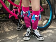 MooshWalks: Knee High Character Socks - Sample