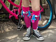 MooshWalks: Knee High Character Socks - Case of 6