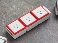 STACK: Modular 3 Outlet Extension - Case of 4