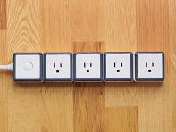 4 Outlet Modular Surge Protector - Case of 2