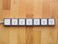 6 Outlet Modular Surge Protector - Case of 2