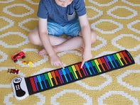 Rock And Roll It: Flexible Rainbow Piano - Case of 6