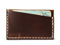 Range Leather Co.: Gannett Minimalist Wallet