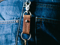 Range Leather Co.: Wheeler Keychain