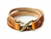 Range Leather Co.: Teton Quad Wrap Bracelet