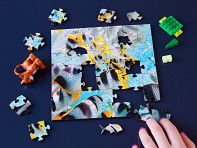 Zen Art & Design: Children's Wooden Jigsaw Puzzle