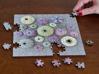 Zen Art & Design: Small Wooden Jigsaw Puzzle