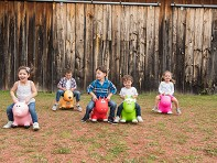 Farm Hoppers: Inflatable Animal Bouncer - Case of 10