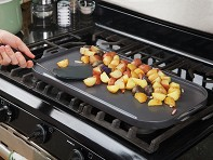 Little Griddle: ANYWARE Ceramic Double Burner Griddle - Case of 4