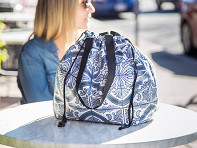 Impwear: Reversible Laminated Cotton Cinch Tote
