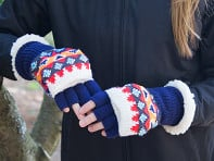 Fingerless Gloves - Fall Collection - Case of 3