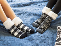 PUDUS: Slipper Socks - Sample