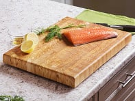 Larch Wood: End Grain Original Cutting Board - Sample