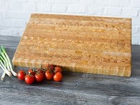 Larch Wood: Endgrain Classic Cutting Board