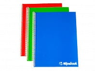 Wipebook: Dry Erase Notebook - Case of 24