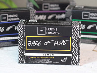 Health 2 Humanity: Bars of Hope + Display - Case of 120