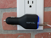 RapidX: DualX Car & Wall USB Charger