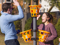 Bean Bag Bucketz: Bean Bag Basket Toss Game - Sample