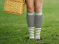 Women's Nylon 15-20 mmHg Compression Socks