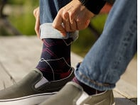 Men's Cotton 15-20 mmHg Compression Socks
