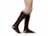 Men's Wool 15-20 mmHg Compression Socks