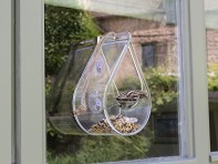 Wildlife World: Dewdrop Window Feeder - Case of 6