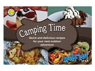 Wolf'em Stick: Camping Time Cookbook - Case of 10