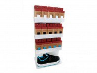 No Tie Shoelaces POP - Display