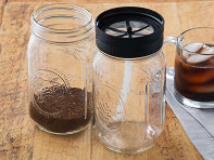 BRUW: Cold Brew Mason Jar Filter Starter Pack - Case of 8